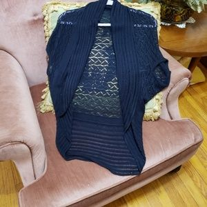 The Limited Open Front Short Sleeve Cardigan